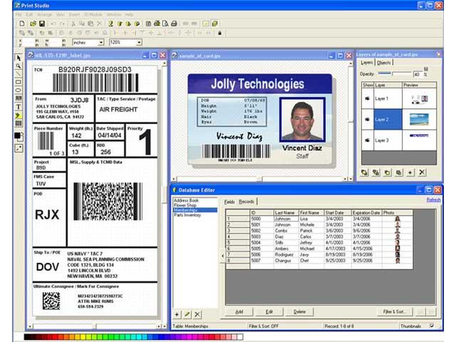 Tarjetas y credenciales plasticas en pvc tarjetas for Software para disenar armarios